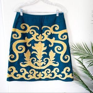 Boden | Aline Embroidered Skirt